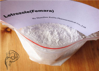 China Anti Estrogen Bodybuilding Steroids Letrozole Femara White Powder CAS 112809-51-5 supplier
