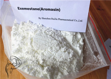 Steroid Raw Powder White Anti Estrogen Exemestane Aromasin CAS 107868-30-4