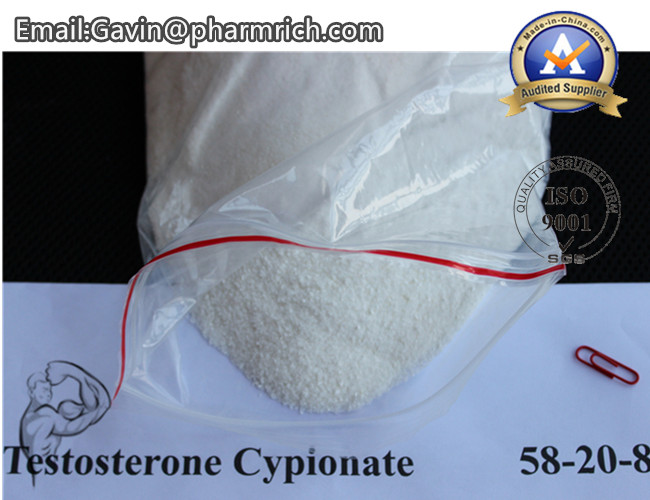 Raw Muscle Buidling Steroids Anabolic Testosterone Cypionate Powder for Male